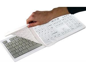 Auswechselbare Membran zur desinfizierbaren Tastatur