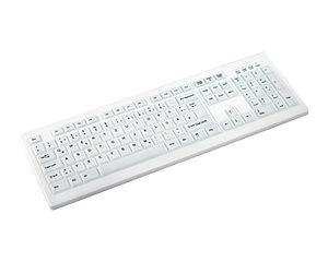 Desinfizierbare PC-Tastatur mit Wechselmembran