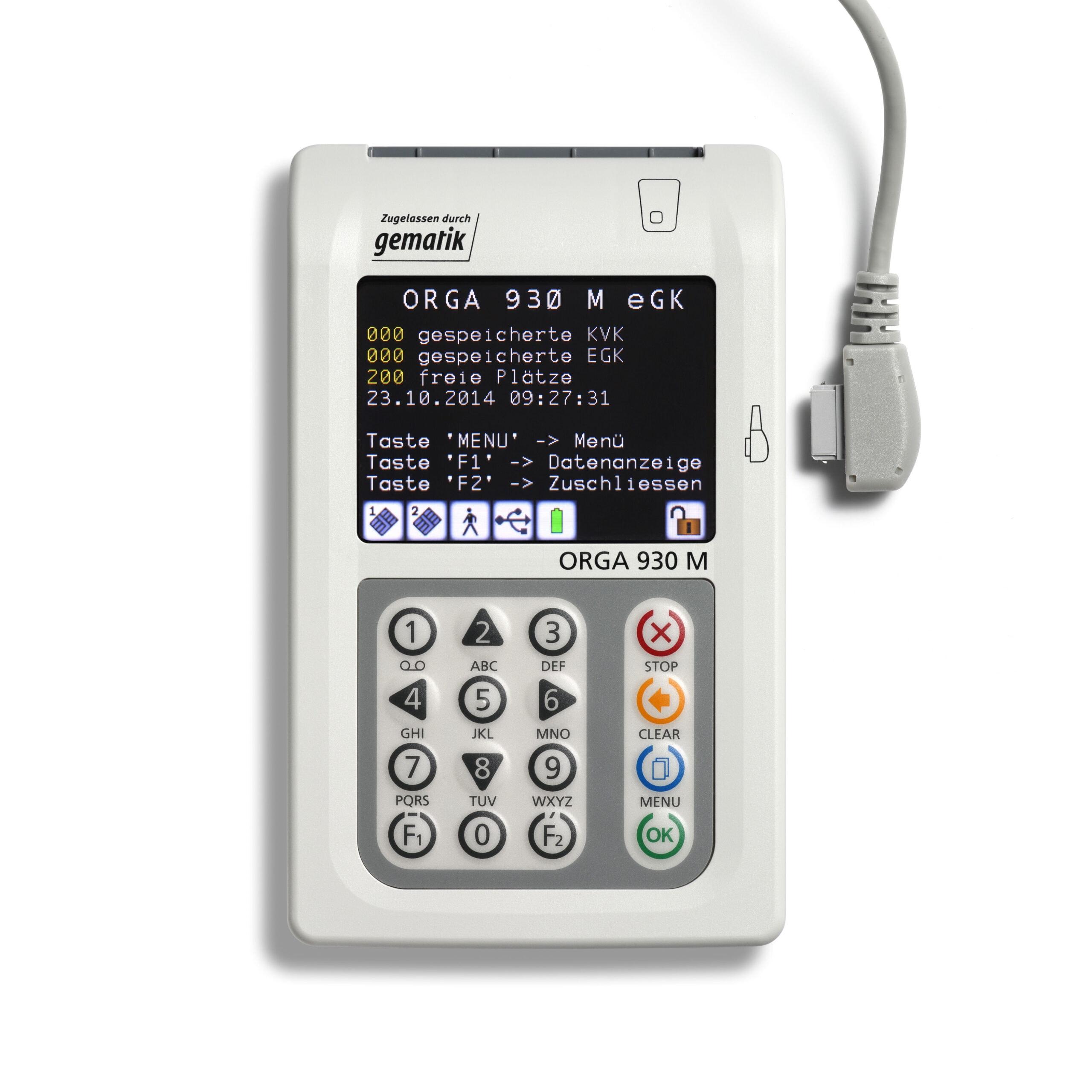 ORGA 930 M mit USB Kabel